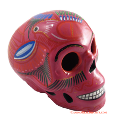 Day Of The Dead Hand Painted Skull LCS001