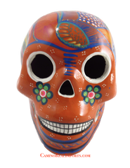 Day Of The Dead Hand Painted Skull LCS007