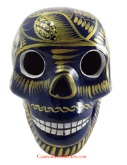 Day Of The Dead Hand Painted Skull LCS009