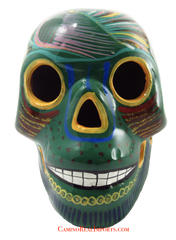 Day Of The Dead Hand Painted Skull LCS012
