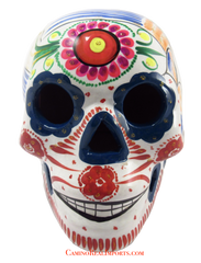 Day Of The Dead Hand Painted Skull LCS014