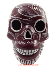 Day Of The Dead Hand Painted Skull LCS015