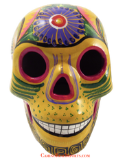 Day Of The Dead Hand Painted Skull LCS016