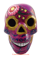 Day Of The Dead Hand Painted Skull LCS017