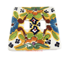 Talavera Pottery Double Toggle Switch Plate TTSPDB025