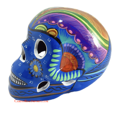 Day Of The Dead Hand Painted Skull MCS001