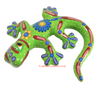 Hand Painted Clay Gecko Lizard GGLL020
