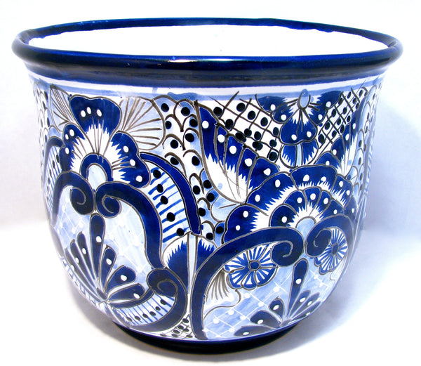 TALAVERA FLOWER POT PLANTER