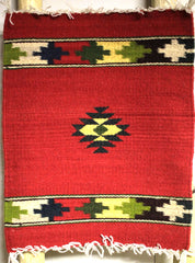 "ZAPOTEC RUG PLACE MAT  16"" X 20""  ZPM033"