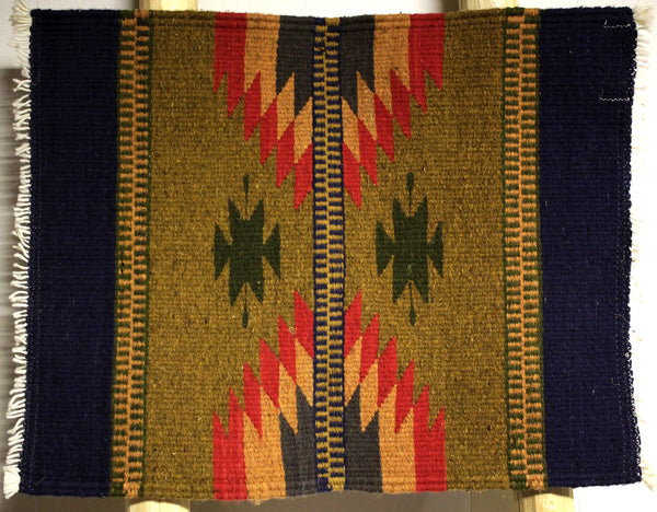 "ZAPOTEC RUG PLACE MAT  16"" X 20""  ZPM038"