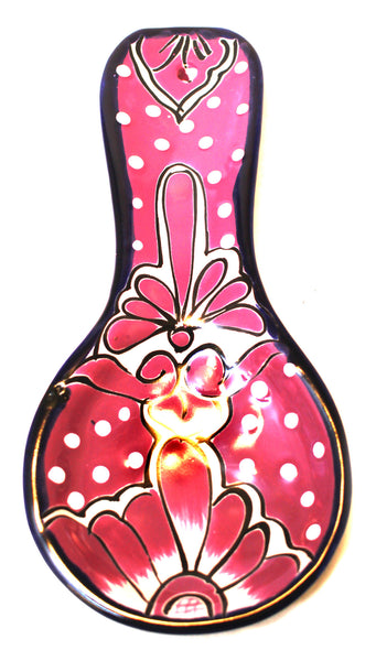 MEXICAN WALL HANGING TALAVERA SPOON REST TSR034