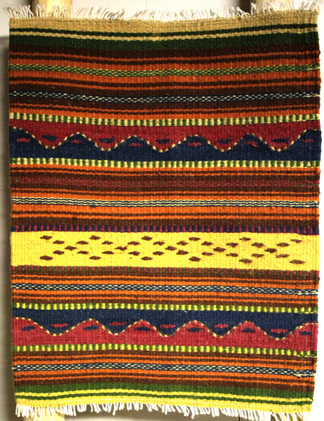 "ZAPOTEC RUG PLACE MAT  16"" X 20""  ZPM027"