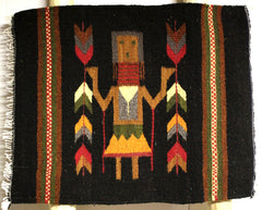 "ZAPOTEC RUG PLACE MAT  16"" X 20""  ZPM031"