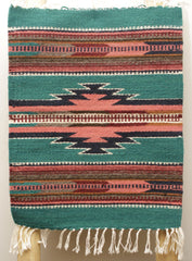 "ZAPOTEC RUG PLACE MAT  16"" X 20""  ZPM020"