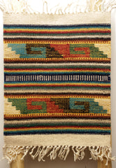 "ZAPOTEC RUG PLACE MAT  16"" X 20""  ZPM023"
