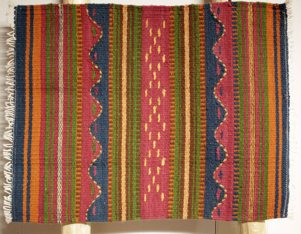 "ZAPOTEC RUG PLACE MAT  16"" X 20""  ZPM035"