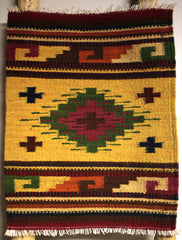 "ZAPOTEC RUG PLACE MAT  16"" X 20""  ZPM034"