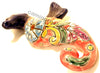 "TALAVERA WALL DECOR SEA HORSE 9.5"" TWSH003"