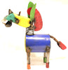METAL DONKEY YARD ART SCULPTURE SMALL  MDNK004