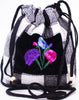 GUATEMALA POUCH PURSE with FLOWERS GPP006