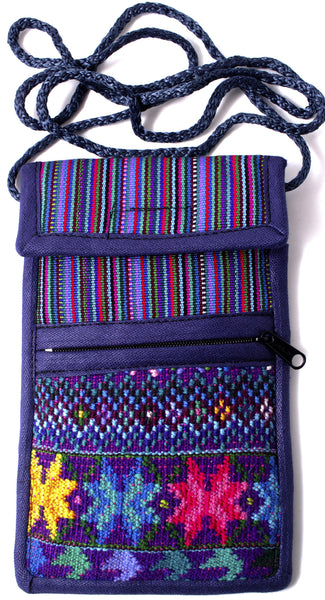 GUATEMALA SHOULDER BAG CELLPHONE PURSE  HAND CRAFTED LG GCFP001