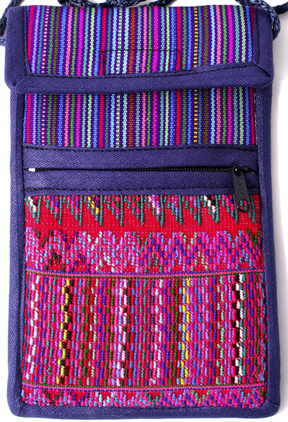 GUATEMALA SHOULDER BAG CELLPHONE PURSE HAND CRAFTED LG GCFP004