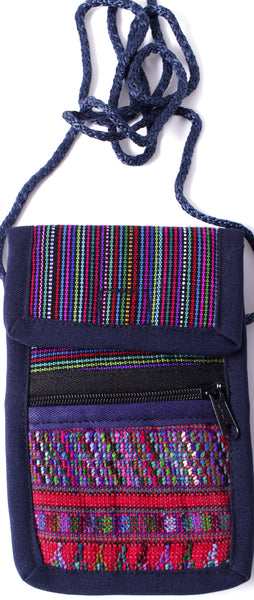 GUATEMALA SHOULDER BAG CELLPHONE PURSE HANDCRAFTED SM GCFP021