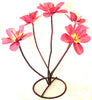 "YARD ART METAL FLOWER SCULPTURE 18""  MFLWR004"