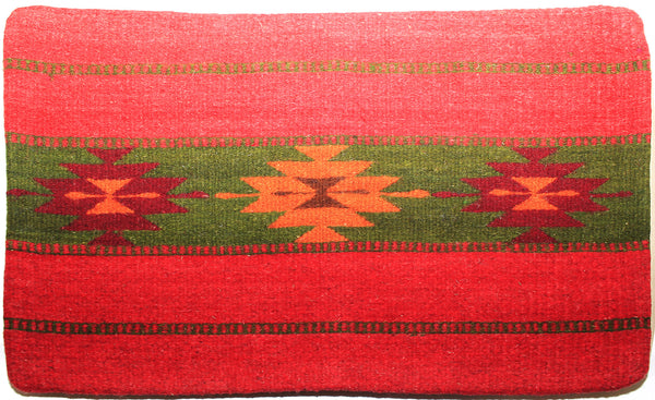 ZAPOTEC RUG PILLOW COVER 100% WOOL HAND WOVEN PCZ012