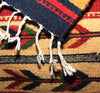 "ZAPOTEC RUG 8"" X 77"" RUNNER WITH SOUTHWESTERN DESIGN  ZRR77-003"