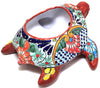 TALAVERA SEA TURTLE FLOWER POT PLANTER  TST023