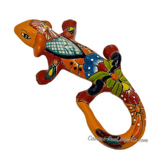 "Talavera Wall Decor Gecko Iguana 13"" TI13006"
