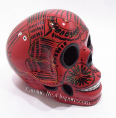 Day Of The Dead Hand Painted Skull LCS003