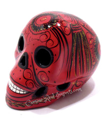 Day Of The Dead Hand Painted Skull MCS008