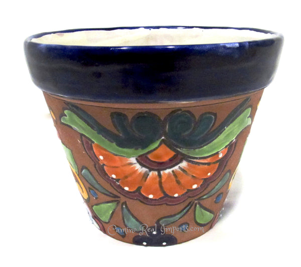 Talavera Flower pot Caminorealimports.com