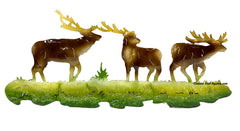 "26"" Wall Decor Metal 3 Elk MWHEk001"