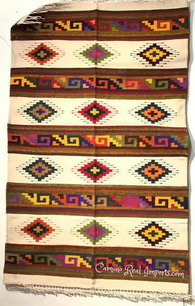 Zapotec Rug 48 Quot X 80 Quot Southwest Wool Made In Mexico
