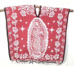 Mexican Poncho  Our Lady of Guadalupe Gaban GA018