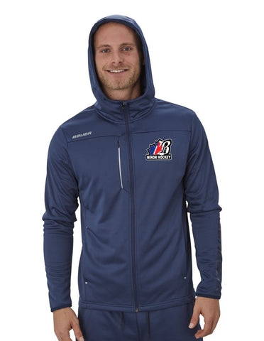BEL Bauer Vapor Fleece Zip Hoodie Youth