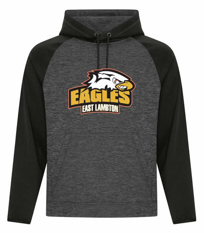 EL DYNAMIC HEATHER HOODY YOUTH