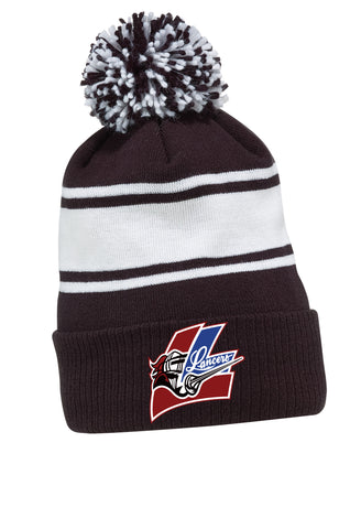 LMH CCM FLEECE KNIT POM TOQUE
