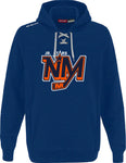 NM CCM FLEECE HOODY WITH APPLIQUE LOGO ADULT