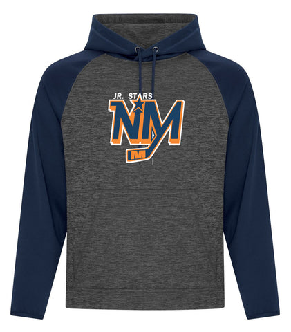 NM DYNAMIC HEATHER HOODY ADULT