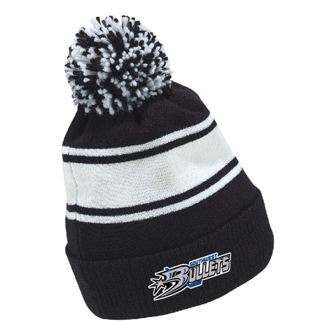 SW CCM FLEECE KNIT POM TOQUE