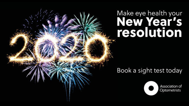 BE KIND TO YOUR EYES - 20/20 IS THE YEAR TO START