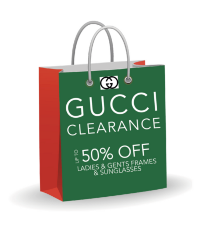 GUCCI CLEARANCE - Starts Black Friday