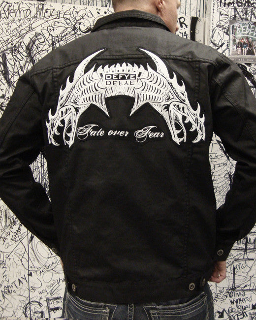 """Fate Over Fear"" Dragon Jacket"