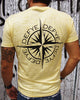 Searching Compass Burnout V-Neck