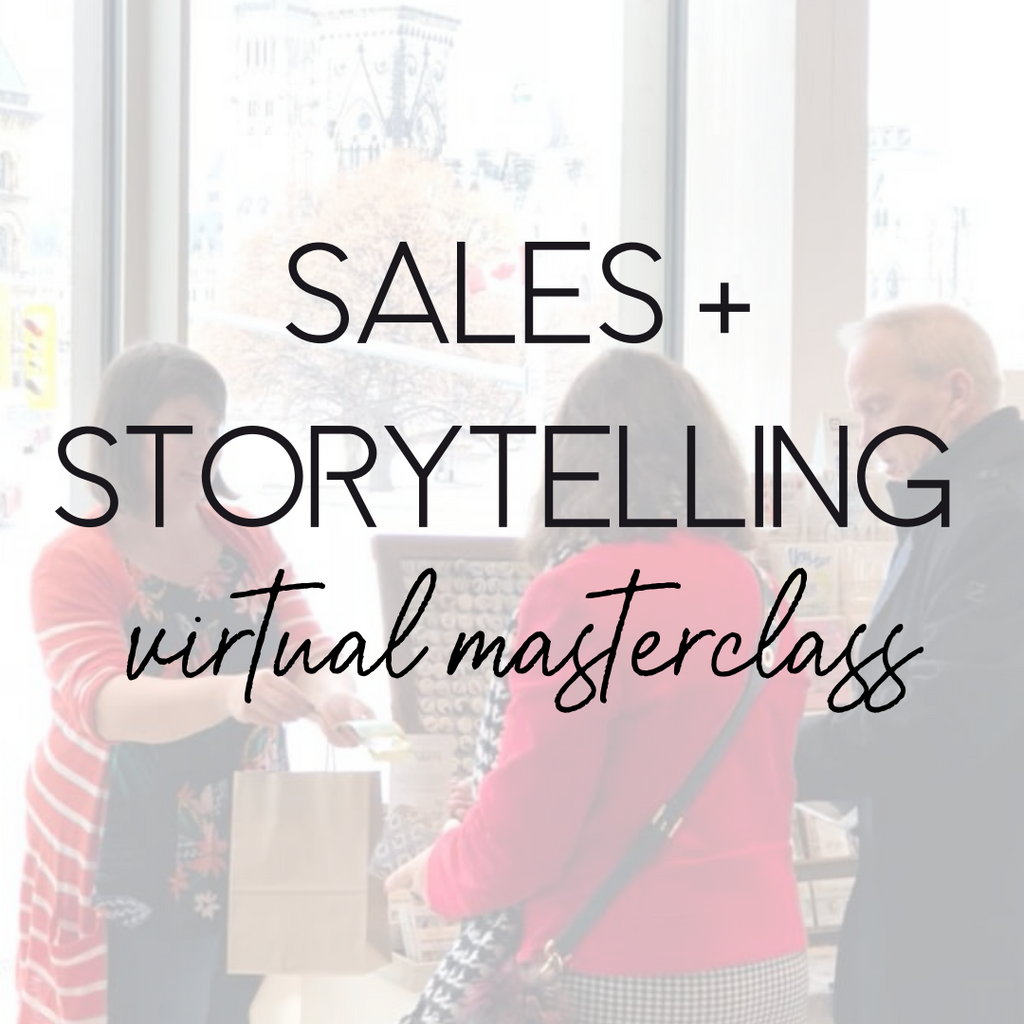Sales & Storytelling Virtual Masterclass