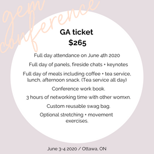Gem Conference Ticket (one day)